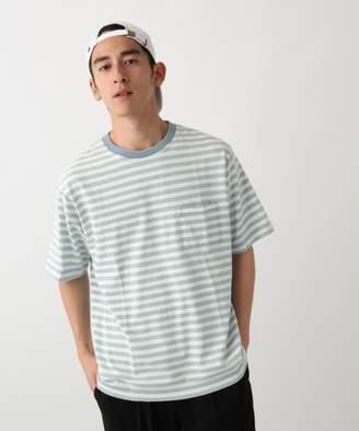 RAGEBLUE (レイジブルー) - インディゴジャガードTシャツ