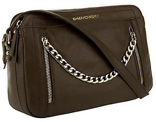 B. MakowskyAs Is B. Makowsky Adele Glove Leather Crossbody Bag