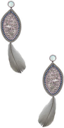 Deepa Gurnani Neva Statement Earrings
