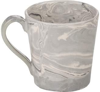 Simple Life Ebru Marbled Mug