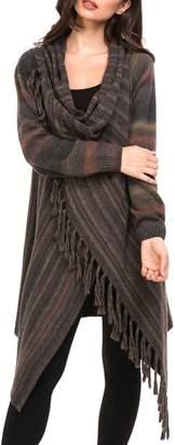 Adore Button Fringe Sweater