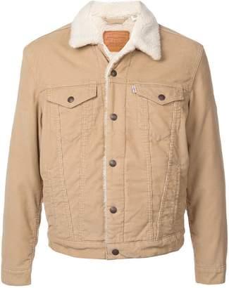 Levi's Type II Sherpa trucker jacket