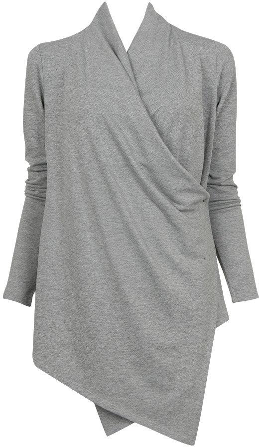 Long Sleeve Wrap Cardigan