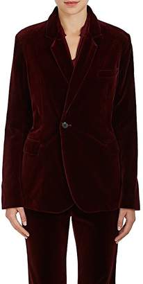 Nili Lotan Women's Classon Velvet One-Button Blazer