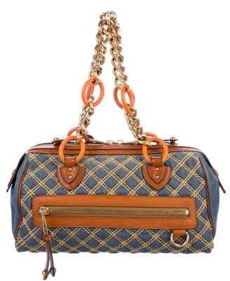 Marc Jacobs Quilted Denim Bag