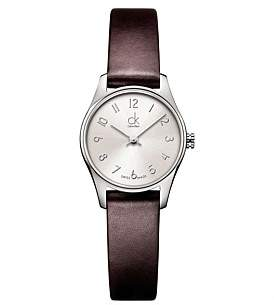 Calvin Klein Polished Arabic Indexes Watch