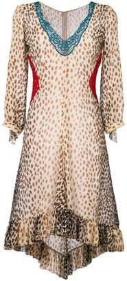 Marco De Vincenzo leopard print dress