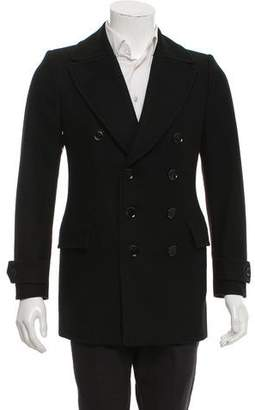 Burberry Double-Breasted Peacoat