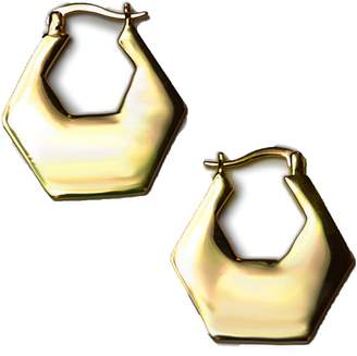 Jules Smith Designs Hexagon Hoop Earrings