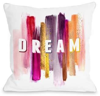 One Bella Casa Dream Paint Pillow - Multi