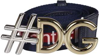 Dolce & Gabbana #dgmillennials Logo Belt