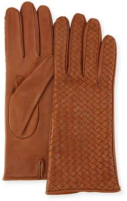 Portolano Woven Napa Leather Gloves