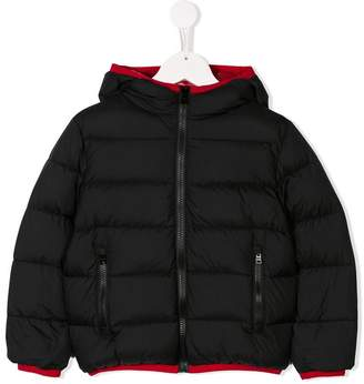 Herno Kids hooded padded jacket