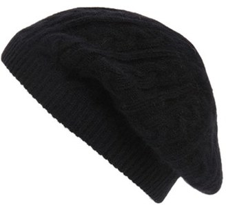 Sole Society Cable Knit Beret $26.95 thestylecure.com