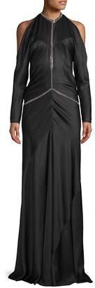 Alexander Wang Women's Backless Silk Floor-Length Gown