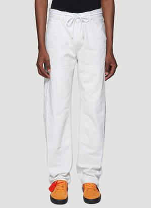 Off-White Off White Carpenter Jeans in White