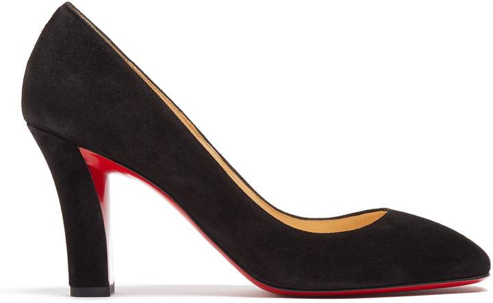 CHRISTIAN LOUBOUTIN Viva 85mm suede pumps