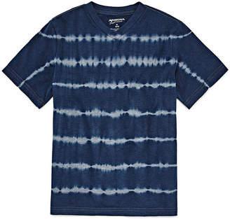 Arizona Short Sleeve V Neck T-Shirt Boys 8-20
