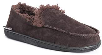 Muk Luks Men's Faux Suede Moccasins Slipper