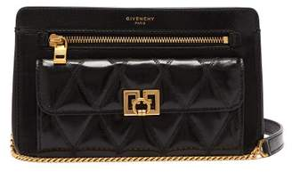 Givenchy Pocket Leather Cross Body Bag - Womens - Black