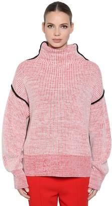 Sportmax Cashmere Rib Knit Sweater