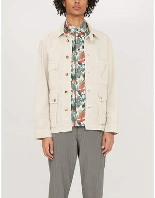 Billy Reid Tuscumbia cactus-print cotton shirt