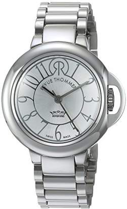 Revue Thommen Cosmo - Lifestyle Women's Automatic Watch with Silver Dial Analogue Display and Silver Stainless Steel Bracelet 109.01.01
