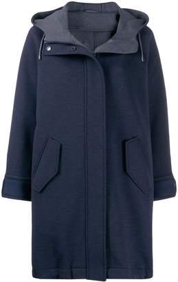 Brunello Cucinelli hooded winter coat