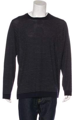 Brunello Cucinelli Striped Wool & Cashmere T-Shirt w/ Tags