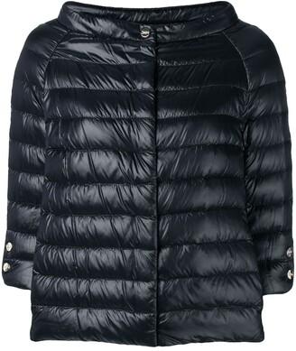 Herno wide boat neck jacket