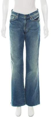 7 For All Mankind Mid-Rise Jeans