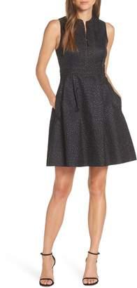 Lilly Pulitzer R) Franci Jacquard Dress