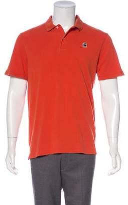 G Star Logo Appliqué Polo Shirt