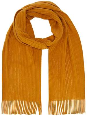 Red Herring Mustard Knitted Scarf