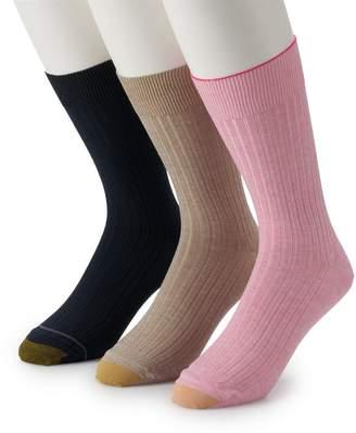 Gold Toe Goldtoe Men's GOLDTOE 3-pk. Canterbury Dress Socks