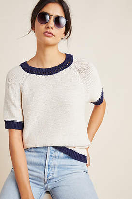 Anthropologie Scout Ringer Knit Tee