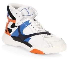 Valentino Retro Basketball High Top Sneakers