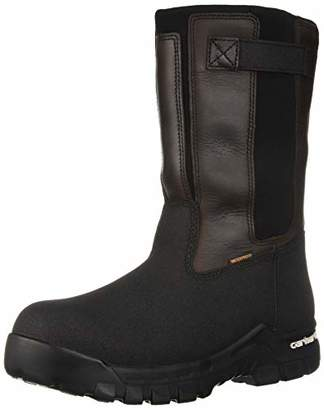 Carhartt Men's CSA 10-inch Rugged Flex Wtprf Isulated Work Pull-On Comp Safety Toe CMR1999 Industrial Boot US