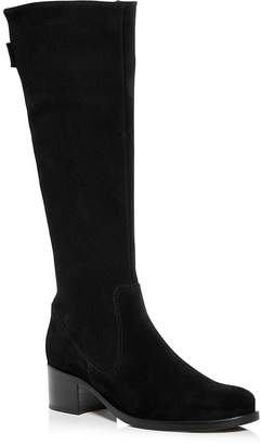 La Canadienne Women's Pawla Waterproof Suede Mid Heel Boots