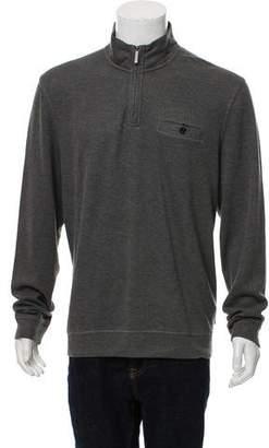 Ted Baker Single Pocket Half-Zip Sweater