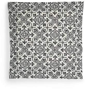 Sferra Glynn Printed Egyptian Cotton Euro Sham