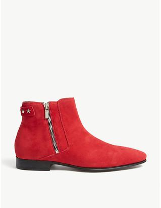 Aldo Sthephanus suede ankle boots