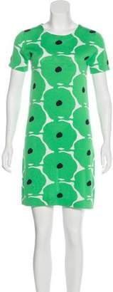 Diane von Furstenberg Chioma Intarsia Knit Dress