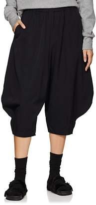 Comme des Garcons Women's Wool Drawstring Crop Balloon Pants