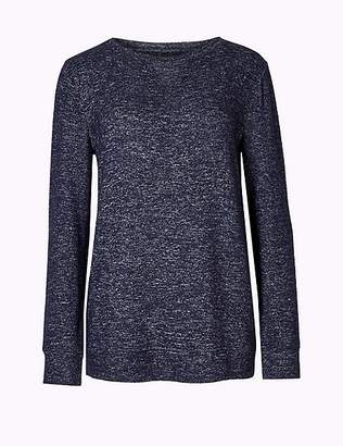 Marks and Spencer Cosy Knit Long Sleeve Pyjama Top