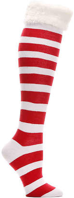 Mix No. 6 Holiday Stripe Knee Socks - Women's