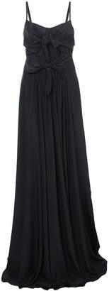 Derek Lam bow embellished gown