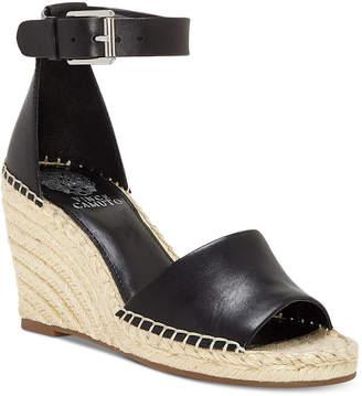 1e9bc0c048 Vince Camuto Leera Espadrille Wedge Sandals Women Shoes