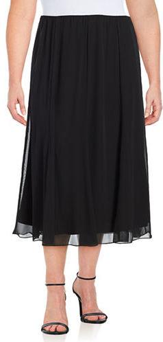 Alex EveningsAlex Evenings Plus Chiffon Skirt