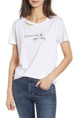Philanthropy Harlow Embroidered Tee